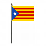 Catalan Independence Hand Flag - Small